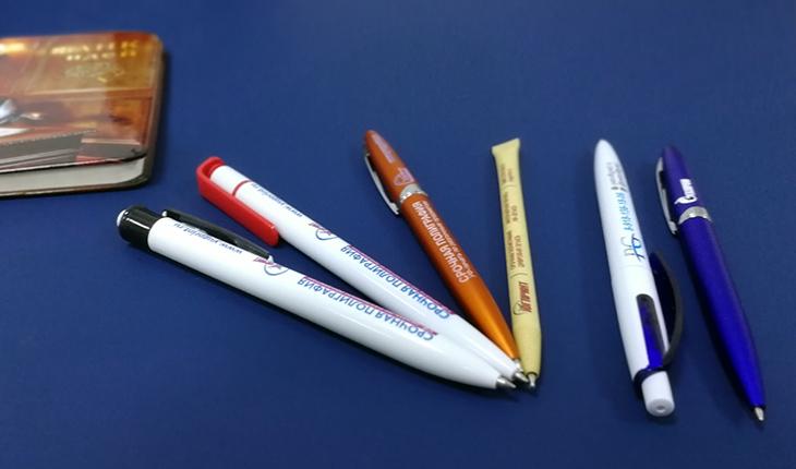Печать на ручках в Краснодаре. Ручки с логотипом